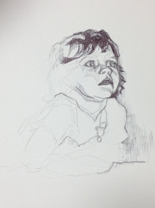 Sketch study, 2014